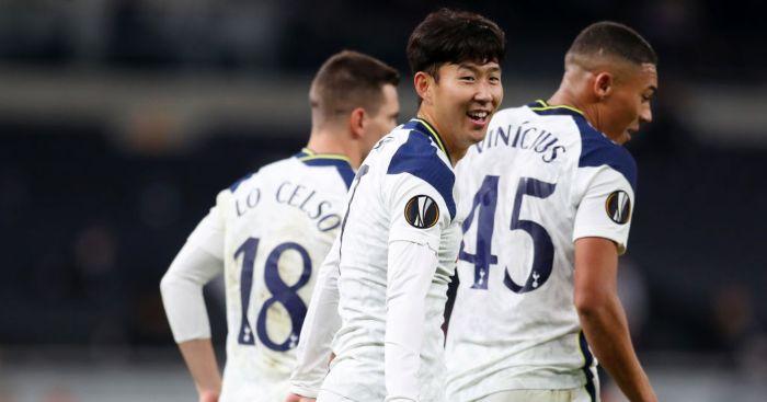 Son Heung-min Tottenham Mourinho