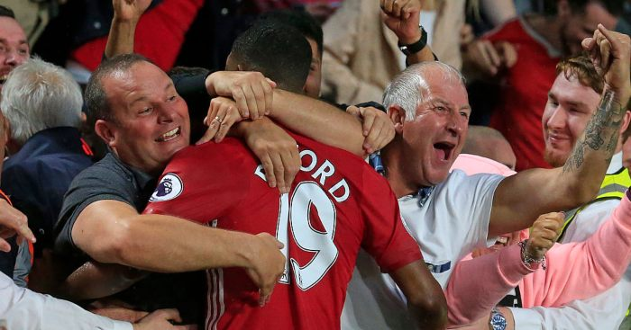 Marcus Rashford Man Utd fans