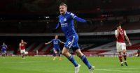 Jamie Vardy Arsenal Leicester