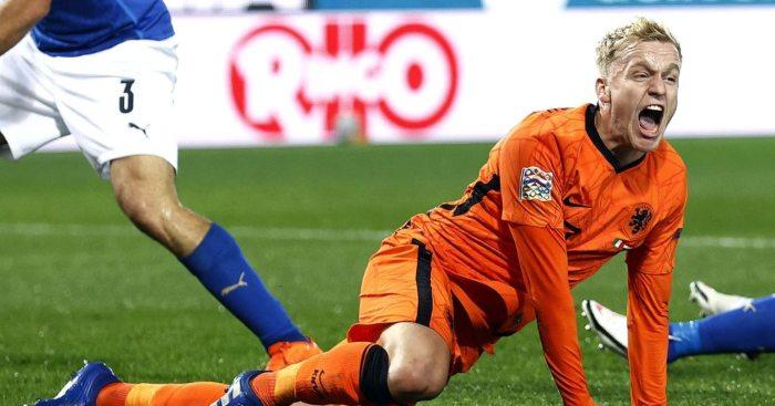 Donny van de Beek Netherlands Man Utd