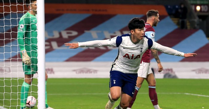 Son Heung-Min Tottenham Burnley