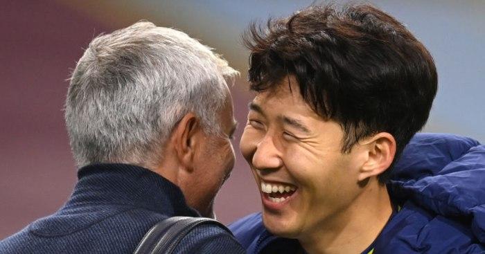 Jose Mourinho Son Heung-min Tottenham