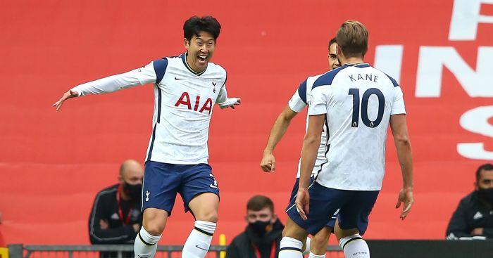 Harry Kane Son Heung-Min Tottenham