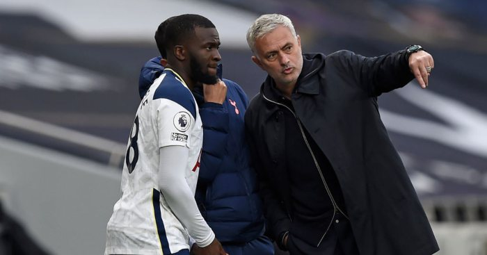 Tanguy Ndombele Jose Mourinho Tottenham