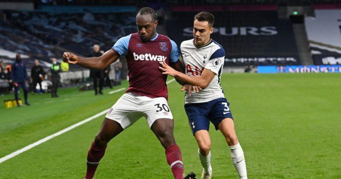 Michail Antonio West Ham Tottenham