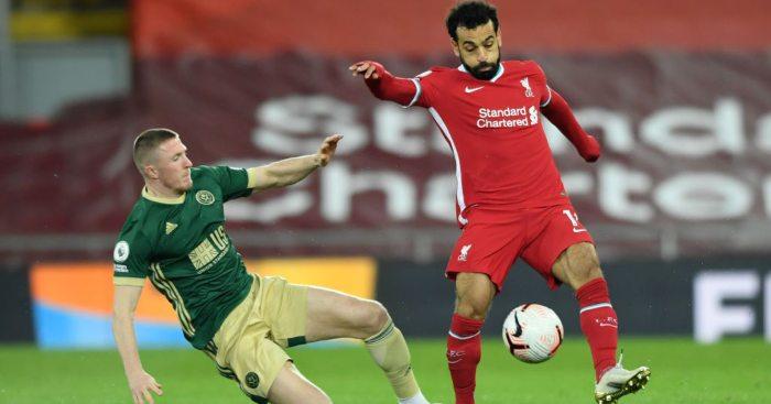 John Lundstram Mo Salah Sheffield United Liverpool