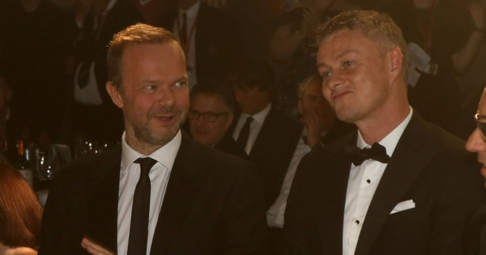 Ed Woodward Ole Gunnar Solskjaer Man Utd