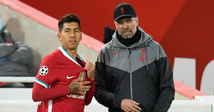 Roberto Firmino Jurgen Klopp Liverpool