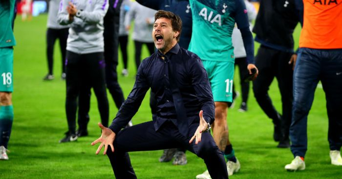 Mauricio Pochettino Spurs Man Utd
