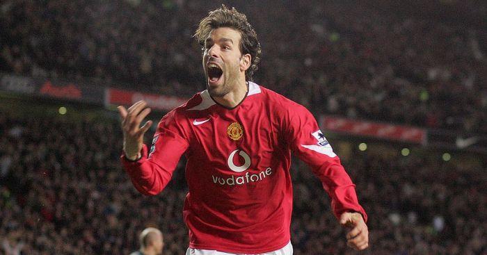 Ruud van Nistelrooy Man Utd