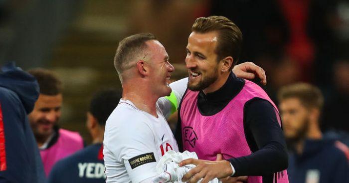 Wayne Rooney Harry Kane Man Utd Tottenham