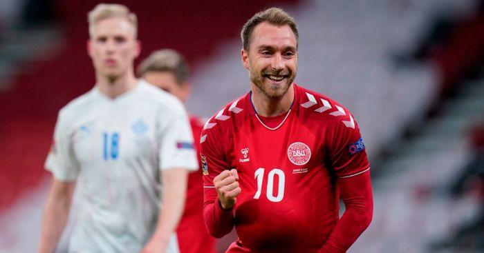 Christian Eriksen Denmark Arsenal