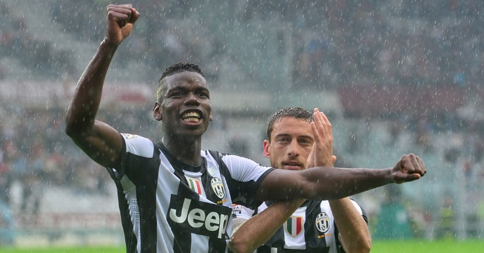 Marchisio Pogba Juventus Man Utd