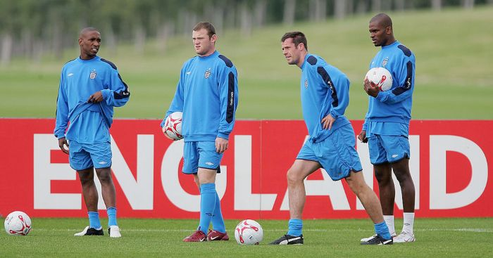 Darren Bent Jamie Carragher England Liverpool