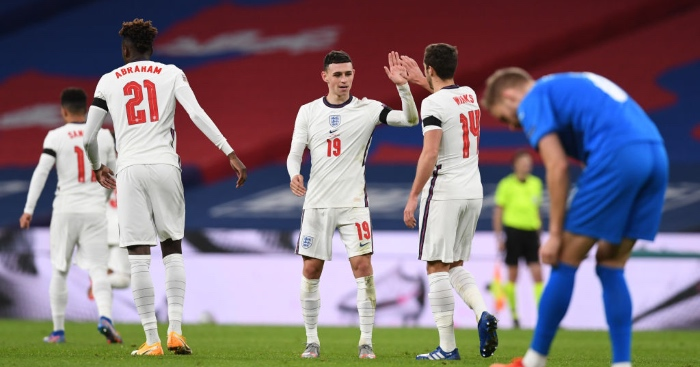 Foden England Goal