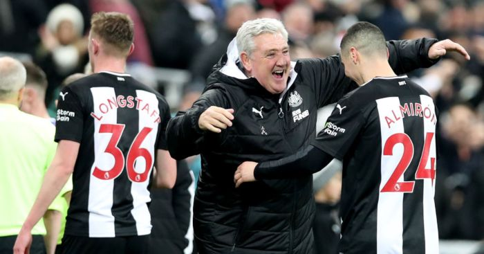 Steve Bruce Miguel Almiron Newcastle United