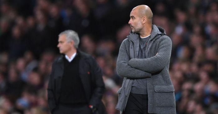 Pep Guardiola Jose Mourinho Manchester City Tottenham