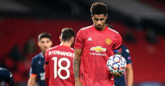 Marcus Rashford Bruno Fernandes Man Utd