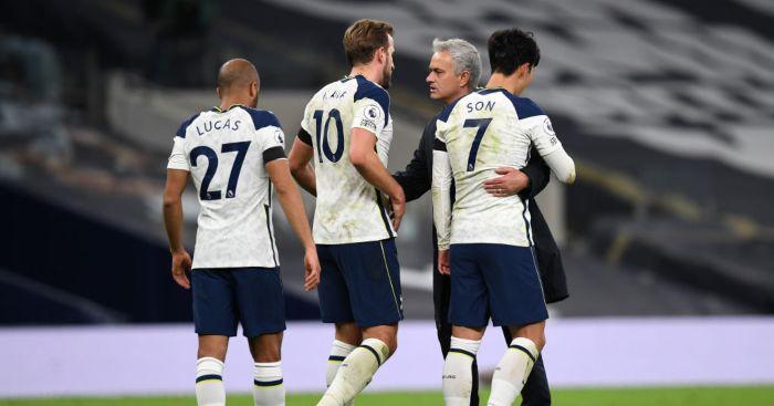 Jose Mourinho Lucas Moura Harry kane Son Heung-min Tottenham
