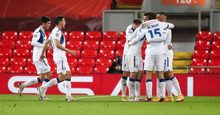 Liverpool 0-2 Atalanta: Klopp's side suffer disappointing defeat - Football News -