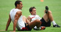 Rio Ferdinand Michael Owen Man Utd Liverpool