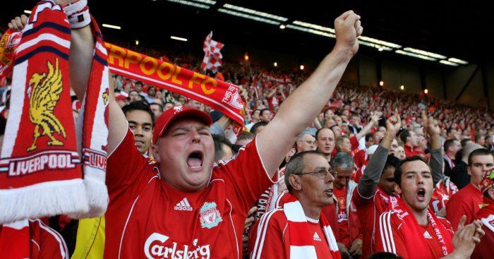 Liverpool fans tier 2