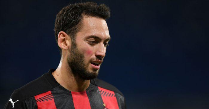 Hakan Calhanoglu AC Milan Man Utd
