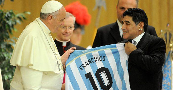 Diego Maradona Pope