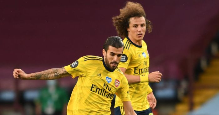 Dani Ceballos David Luiz Arsenal
