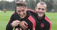 Mesut Ozil Jack Wilshere Arsenal
