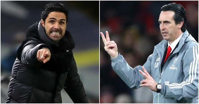 The damning statistics: Comparing Arteta's Arsenal to Emery's...