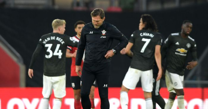 Ralph Hasenhuttl Southampton Man Utd