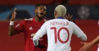 Fred Neymar Manchester United PSG