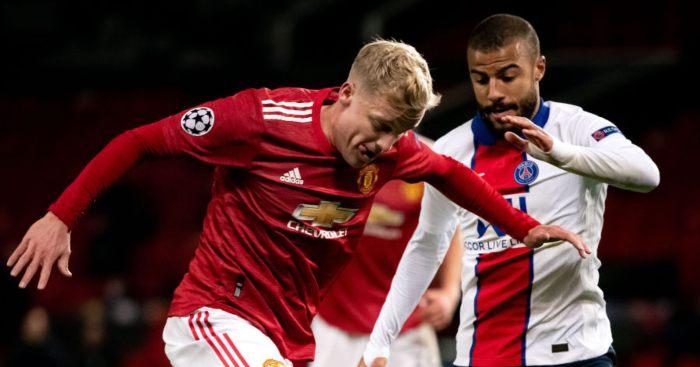 Donny van de Beek Man Utd