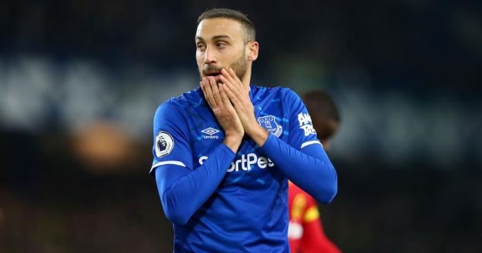 Tosun Everton Besiktas