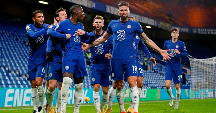 Chelsea 3-1 Leeds: Giroud and Zouma take Blues to summit