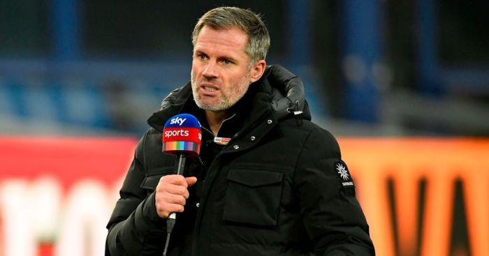 Jamie Carragher Man Utd Liverpool