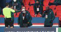 Pierre Webo PSG Istanbul Basaksehir Barnes