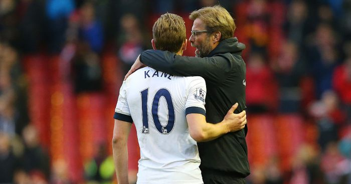 Jurgen Klopp Liverpool Harry Kane Spurs