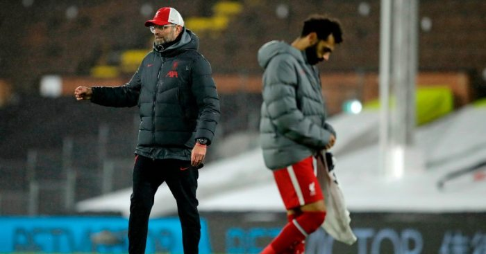 Mohamed Salah Liverpool Jurgen Klopp