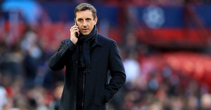 Gary Neville Arsenal