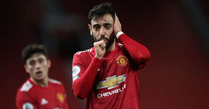 Fernandes targets 'more goals and assists than games' for Man Utd thumbnail