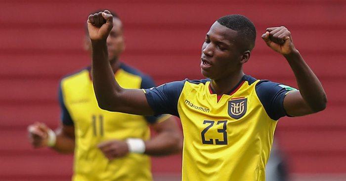 Moises Caicedo Ecuador Man Utd