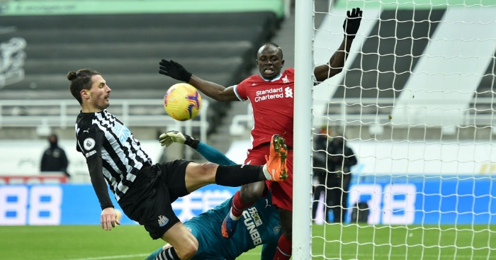 Newcastle Liverpool Schar