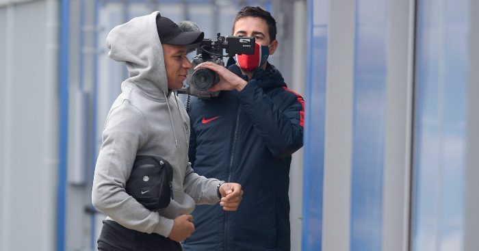 Kylian Mbappe PSG Liverpool