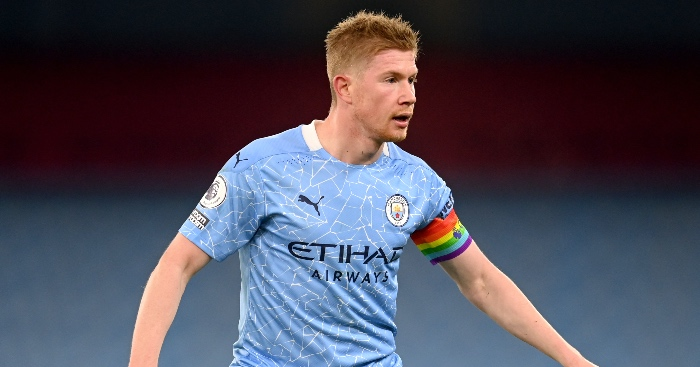 De Bruyne Messi Man City