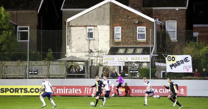 Marine Tottenham FA Cup