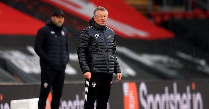 Chris Wilder Sheff Utd F365