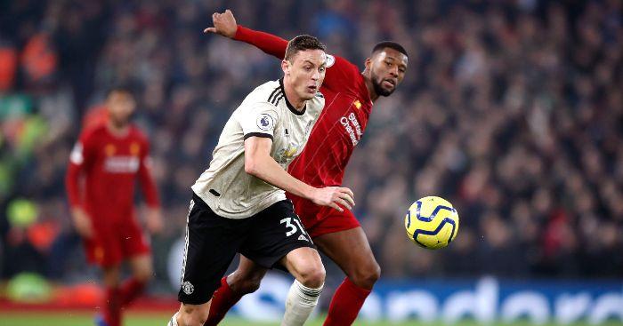 Nemanja Matic Liverpool Man Utd Georginio Wijnaldum