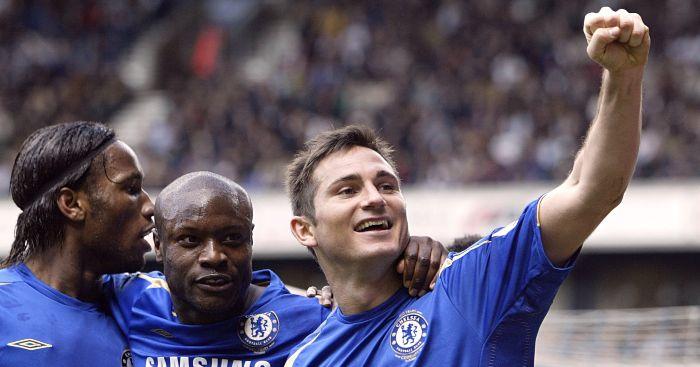 Frank Lampard William Gallas Chelsea